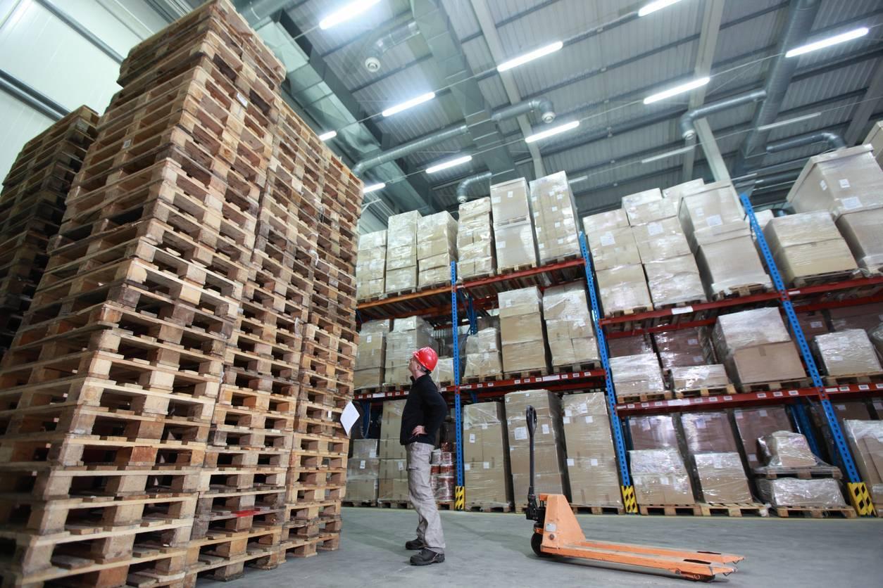 stockage produits logistique